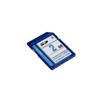Z4001- SD MEMORY CARD 2GB